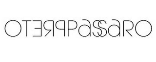 mark for PRETOPASSARO, trademark #85553635
