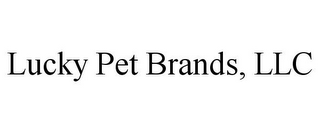 mark for LUCKY PET BRANDS, LLC, trademark #85553800