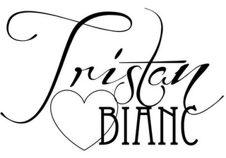 mark for TRISTAN BIANC, trademark #85553845