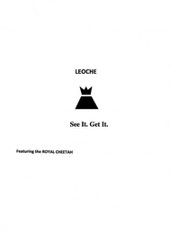 mark for LEOCHE SEE IT. GET IT. FEATURING THE ROYAL CHEETAH, trademark #85553915