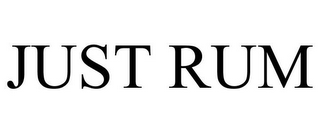 mark for JUST RUM, trademark #85553946