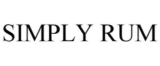mark for SIMPLY RUM, trademark #85553985