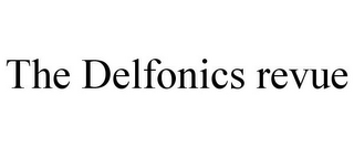 mark for THE DELFONICS REVUE, trademark #85553988