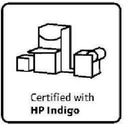 mark for CERTIFIED WITH HP INDIGO, trademark #85554095