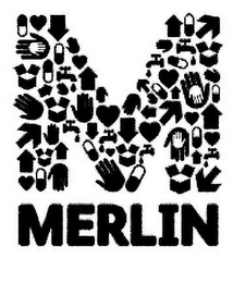 mark for M MERLIN, trademark #85554183