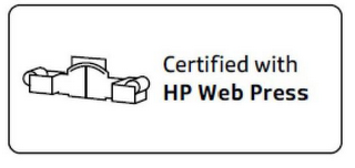 mark for CERTIFIED WITH HP WEB PRESS, trademark #85554545