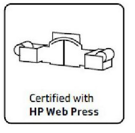 mark for CERTIFIED WITH HP WEB PRESS, trademark #85554564