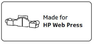 mark for MADE FOR HP WEB PRESS, trademark #85554571