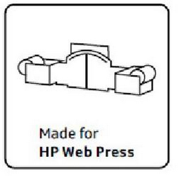 mark for MADE FOR HP WEB PRESS, trademark #85554600