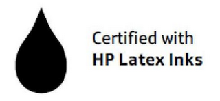 mark for CERTIFIED WITH HP LATEX INKS, trademark #85554735
