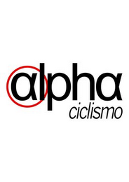 mark for ALPHA CICLISMO, trademark #85554743