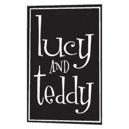 mark for LUCY AND TEDDY, trademark #85554830