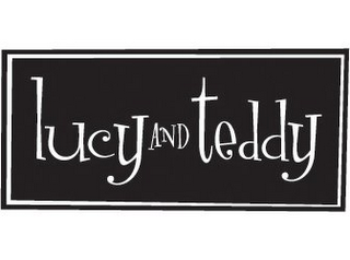 mark for LUCY AND TEDDY, trademark #85554836