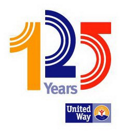 mark for 125 YEARS UNITED WAY, trademark #85554941