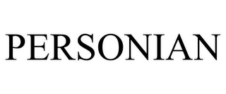 mark for PERSONIAN, trademark #85555129
