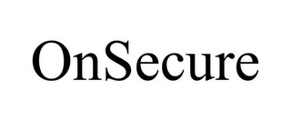 mark for ONSECURE, trademark #85555262