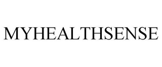 mark for MYHEALTHSENSE, trademark #85555291