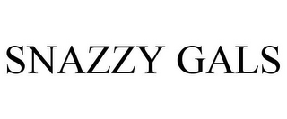 mark for SNAZZY GALS, trademark #85555460