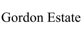 mark for GORDON ESTATE, trademark #85555470