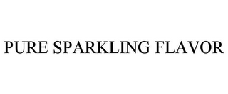 mark for PURE SPARKLING FLAVOR, trademark #85555546