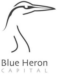 mark for BLUE HERON C A P I T A L, trademark #85555674