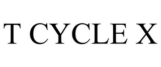 mark for T CYCLE X, trademark #85555745