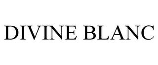 mark for DIVINE BLANC, trademark #85555976
