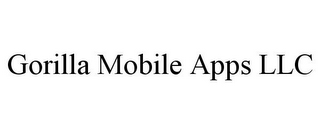mark for GORILLA MOBILE APPS LLC, trademark #85556122