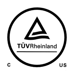 mark for TÜVRHEINLAND C US, trademark #85556167