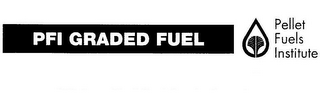 mark for PFI GRADED FUEL PELLET FUELS INSTITUTE, trademark #85556499