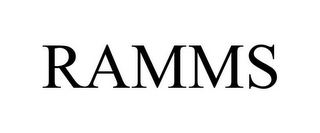 mark for RAMMS, trademark #85556540