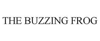 mark for THE BUZZING FROG, trademark #85556996