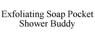 mark for EXFOLIATING SOAP POCKET SHOWER BUDDY, trademark #85557002