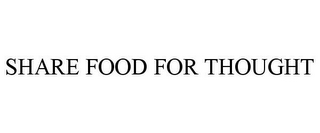mark for SHARE FOOD FOR THOUGHT, trademark #85557059