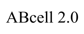 mark for ABCELL 2.0, trademark #85557147