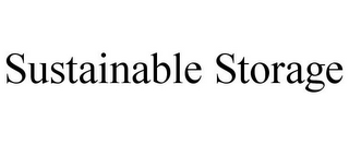 mark for SUSTAINABLE STORAGE, trademark #85557513