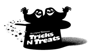 mark for THE ORIGINAL HALLOWEEN TRICKS N TREATS, trademark #85557680