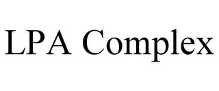 mark for LPA COMPLEX, trademark #85557730