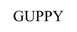 mark for GUPPY, trademark #85557740