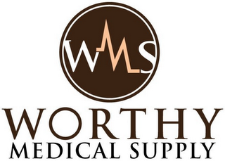 mark for WMS WORTHY MEDICAL SUPPLY, trademark #85557904