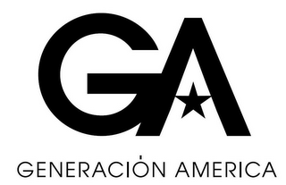mark for GA GENERACIÓN AMERICA, trademark #85557932