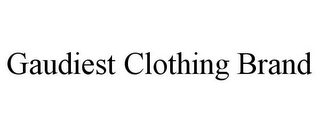 mark for GAUDIEST CLOTHING BRAND, trademark #85558114