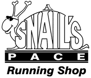 mark for A SNAIL'S P A C E RUNNING SHOP, trademark #85558308