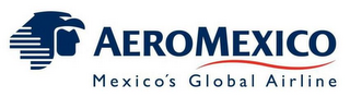 mark for AEROMEXICO MEXICO'S GLOBAL AIRLINE, trademark #85558375