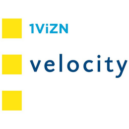 mark for 1VIZN VELOCITY, trademark #85558386