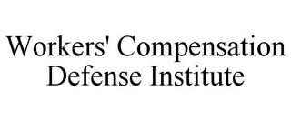 mark for WORKERS' COMPENSATION DEFENSE INSTITUTE, trademark #85558676