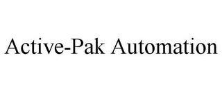 mark for ACTIVE-PAK AUTOMATION, trademark #85558877