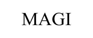 mark for MAGI, trademark #85558879