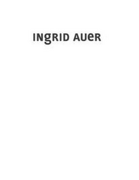 mark for INGRID AUER, trademark #85559032
