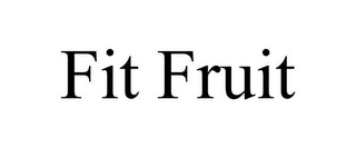 mark for FIT FRUIT, trademark #85559270